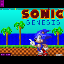 Click to play Sonic Genesis