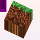 3d-moving-grass-minecraft-block