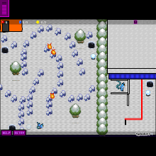 Click to play Articunos winter