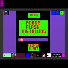 Computer Windows 98 Simulator  - Physics Game by sssrd70