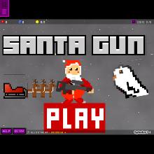 santa-gun