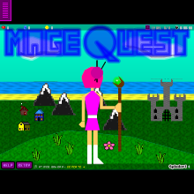 Click to play MageQuest