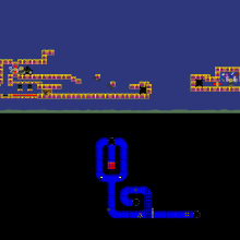 Click to play A Simple Platformer Game