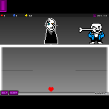 W D  Gaster Battle - Physics Game by togluke