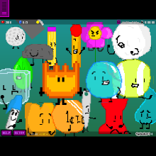 BFDI The Game - Physics Game by undertalecreator