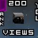 Megaman Celebrates 200 Views - by megaman4540