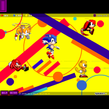 Sonic Mania Plus - Physics Game by bluegoomba79