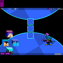 Jevil Battle KEY - Physics Game by ruvymuleyne
