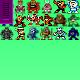 Robot Master Sprites - by jacob5637