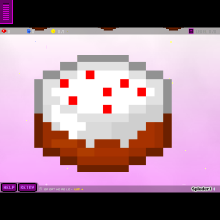 minecraft cake in game