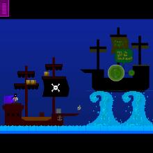 Click to play Strange Seas